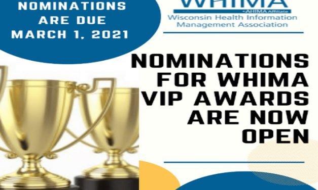 WHIMA Award Nominations